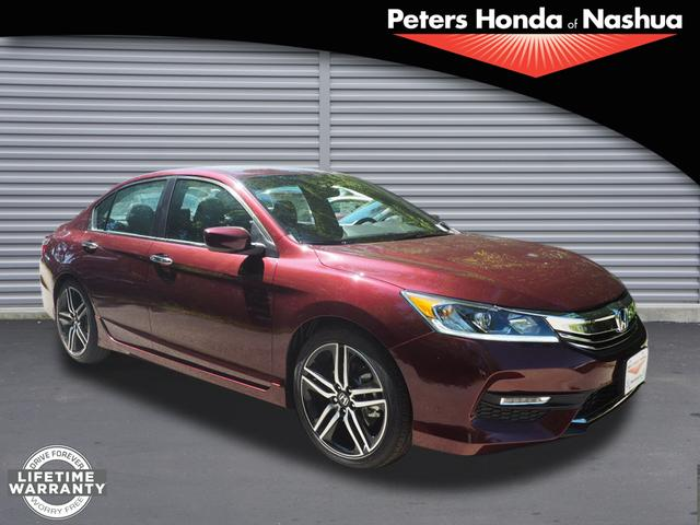 new 2017 honda accord sport special edition sedan in nashua 17h55 peters honda of nashua. Black Bedroom Furniture Sets. Home Design Ideas