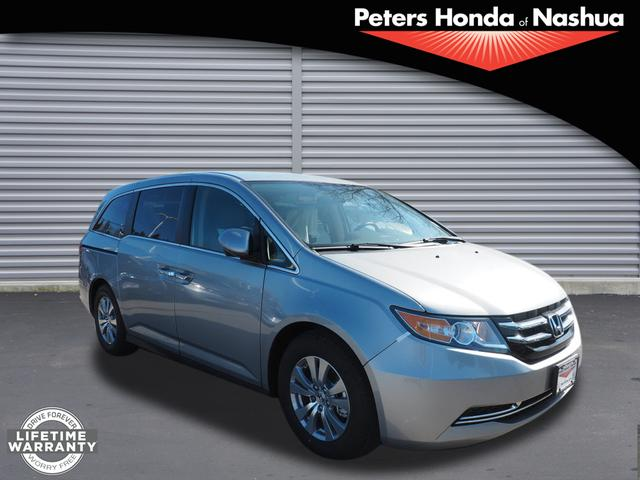 new 2017 honda odyssey se se 4dr mini van in nashua 17h777 peters honda of nashua. Black Bedroom Furniture Sets. Home Design Ideas